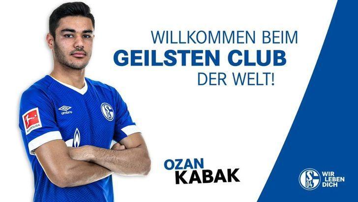 Schalke 04, Ozan Kabak'ı kadrosuna kattığını açıkladı.