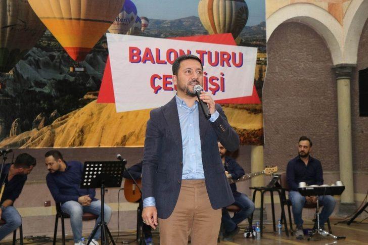 Nevşehir Belediyesi 500 kişiye balon turu hediye etti