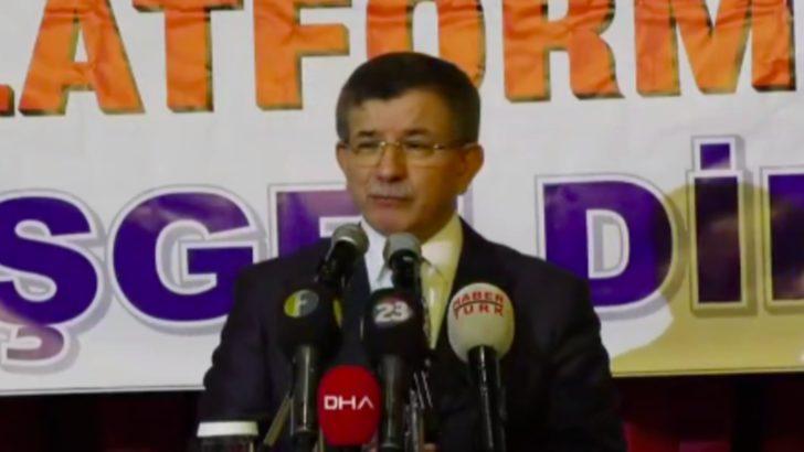 Ahmet Davutoğlu'nun 'Gelecek Partisi'nin kuruluş dilekçesi Bakanlığa verildi