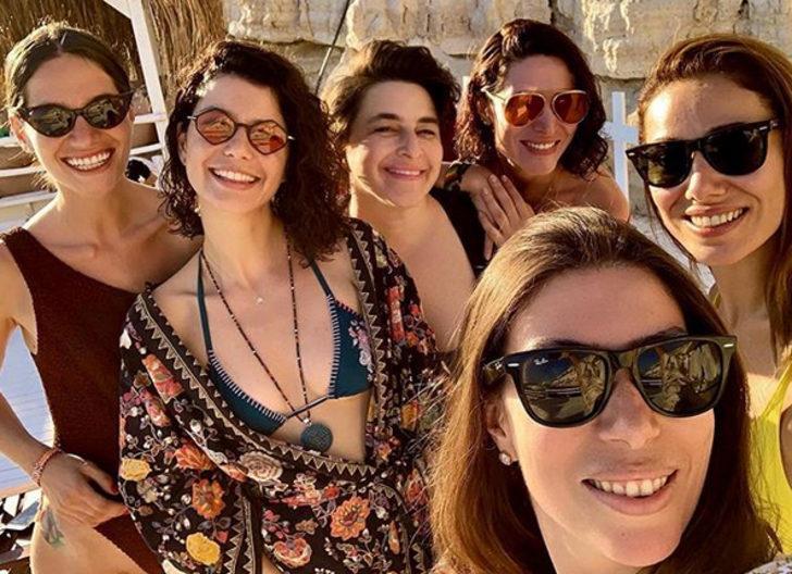 Beren Saat, Belçim Bilgin ve Esra Dermancıoğlu'nun tatil keyfi!