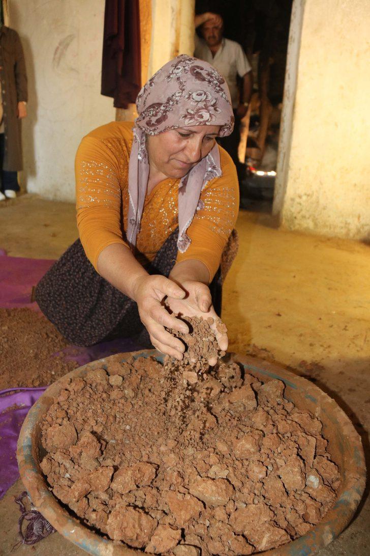 Kadınlar çamurdan para kazanıyor