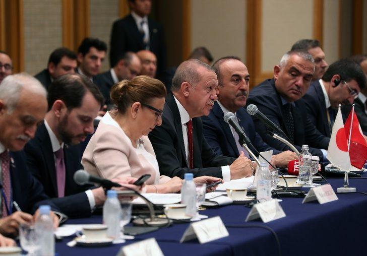 """Cumhurbaşkanı Erdoğan: """"Ticarette korumacılığın artması, serbest ticaretin sekteye uğraması endişe vericidir"""""""