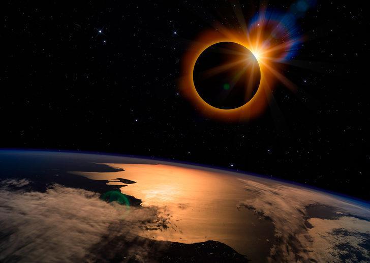 2 Temmuz Yengeç burcunda Güneş tutulması