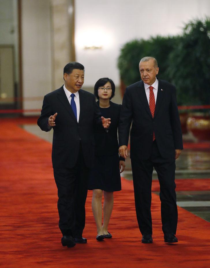Erdoğan, Çin Devlet Başkanı ile heyetler arası görüşme yaptı - Dış Haberler Haberleri
