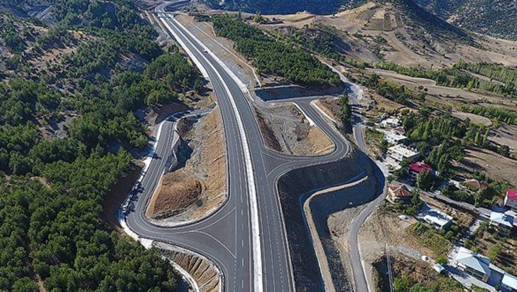 Kahramanmaraş-Kayseri kara yolu yüzde 85 bitti! 1 saatlik yol 5 dakikada gidilecek