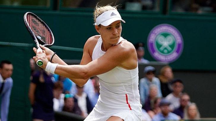Wimbledon'da son şampiyon Kerber'den erken veda