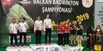 Balkan şampiyonasına Erzincanlı sporcular damga vurdu