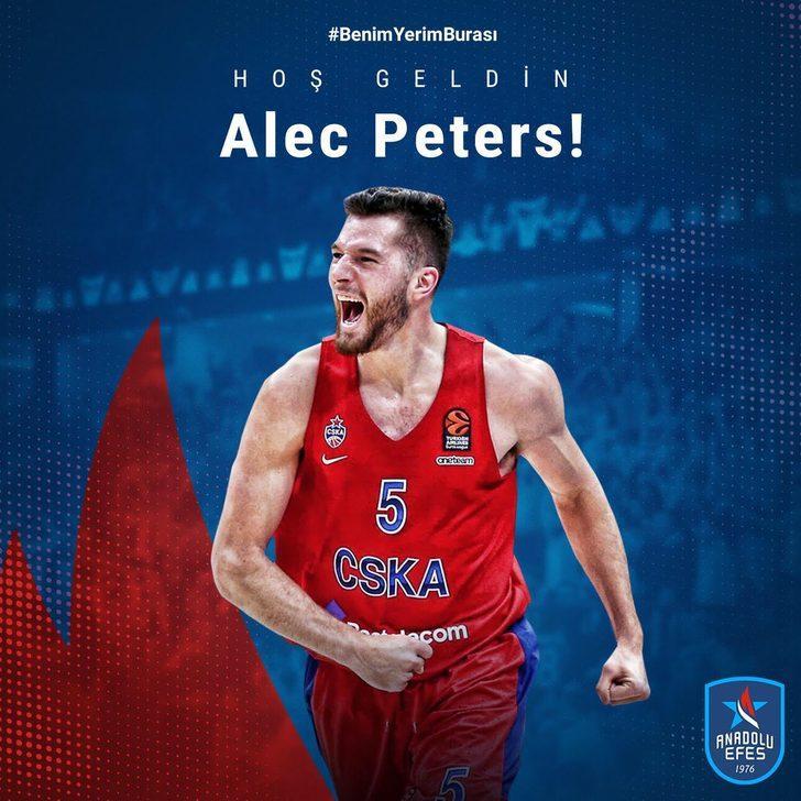 Alec Peters, Anadolu Efes'te