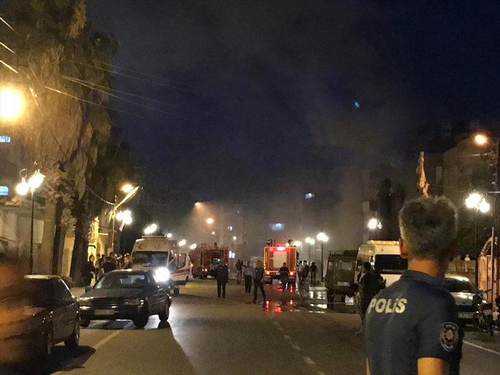 GÜNCELLEME - Reyhanlı'da derneğe ait depoda yangın