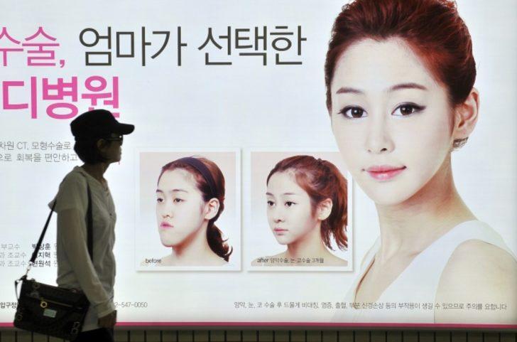 Kalp şeklinde bir yüz - Güney Kore