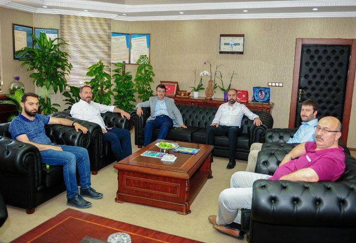 Türkmenoğlu'ndan Rektör Şevli'ye ziyaret