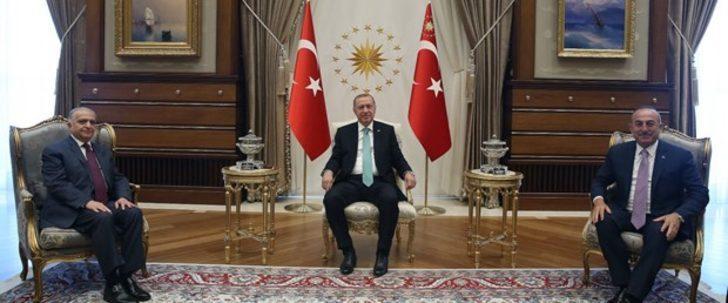 Cumhurbaşkanı Erdoğan, Iraklı üst düzey heyeti kabul etti
