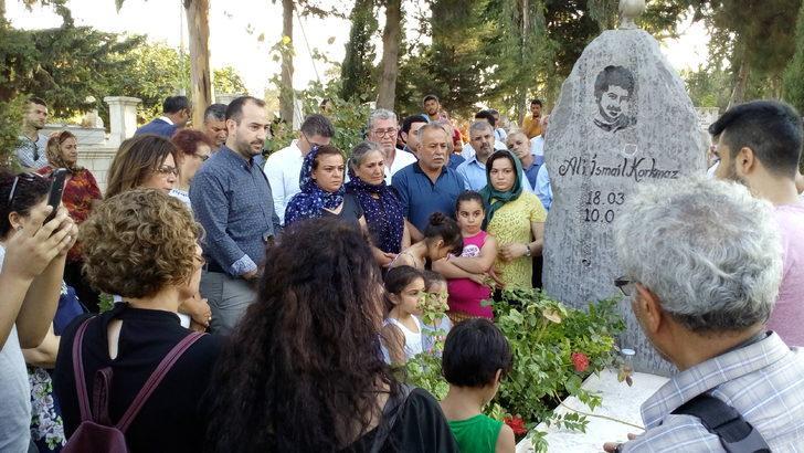 Ali İsmail Korkmaz, Hatay'daki mezarı başında anıldı