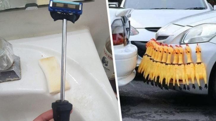 Bu insanların bulduğu çözümler sizleri gülerken düşündürecek!