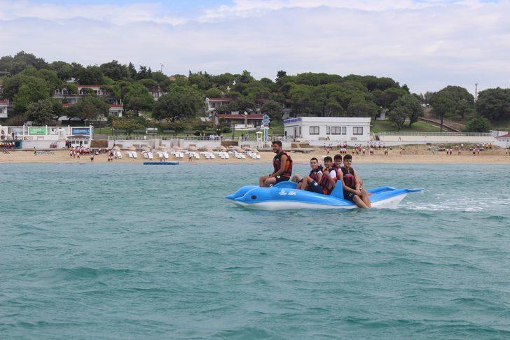 Gençlerin eğlencesi yaz kampları