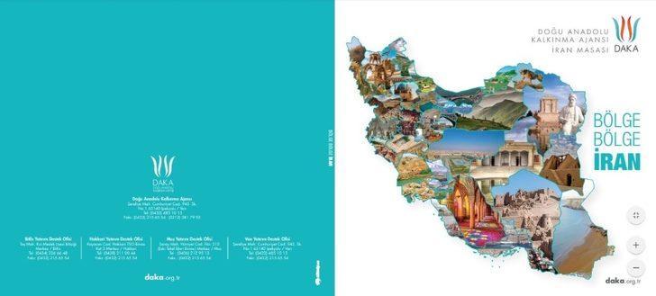 DAKA İran Masası'ndan Farsça web sitesi ve bölge bölge İran kitabı