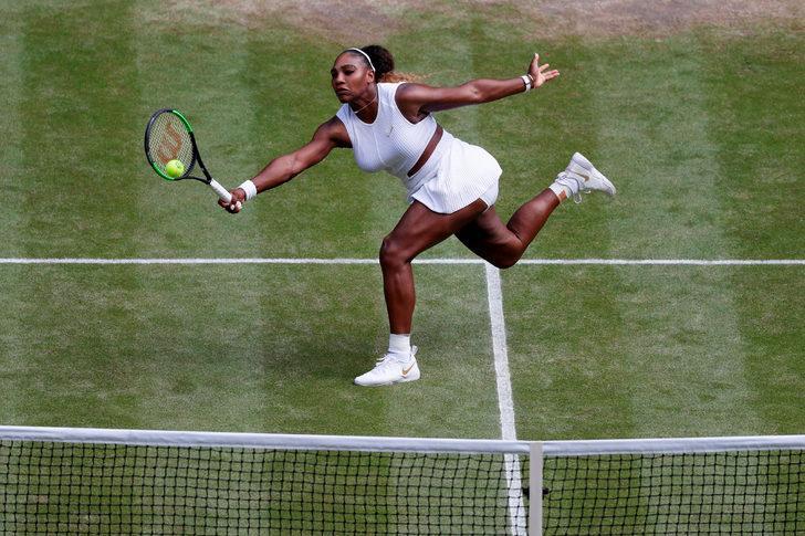 Wimbledon tek kadınlarda finalin adı Serena Williams - Simona Halep