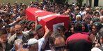 Trafik kazasında yaşamını yitiren polis, son yolculuğuna uğurlandı