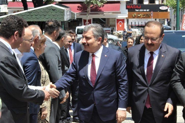 Sağlık Bakanı Fahrettin Koca: