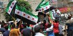 Azez'de Esad karşıtı protesto gösterisi düzenlendi