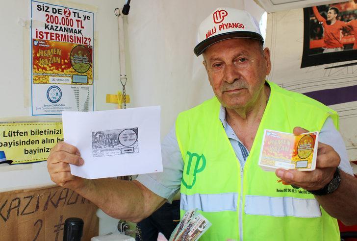 Kazıkazan'dan 200 bin TL'lik büyük ikramiye Antalya'ya çıktı