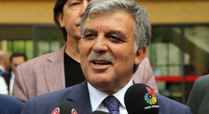 Abdullah Gül yeni parti sorusuna yanıt vermedi