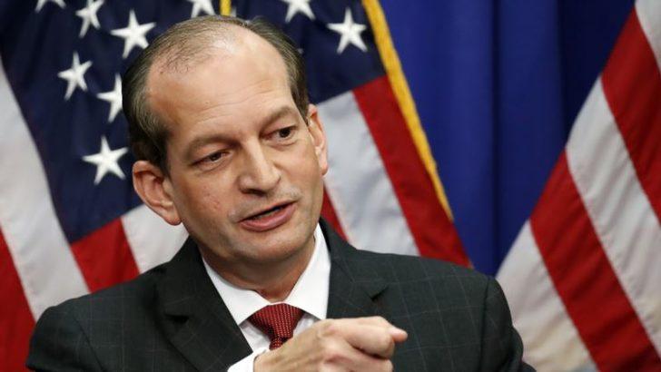 ABD Çalışma Bakanı Eleştirilerin Ardından İstifa Etti