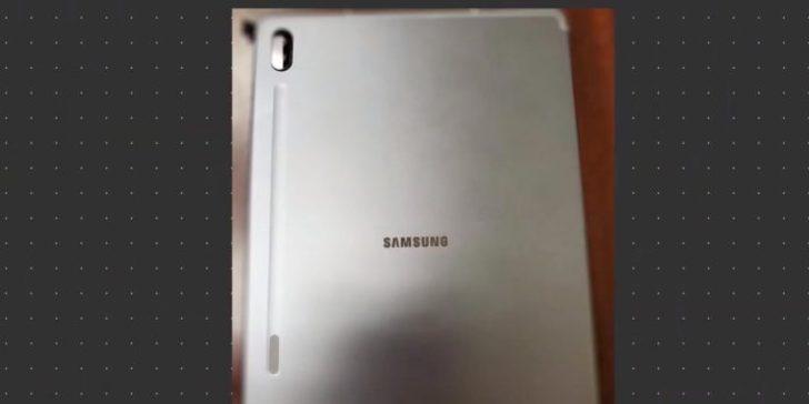 Çift kameralı Samsung Galaxy Tab S6 ortaya çıktı