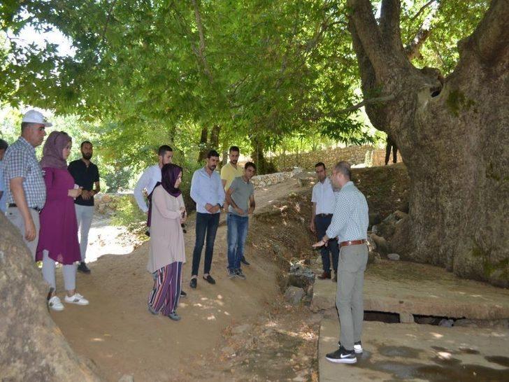 Sason'da doğa turizmini canlandırması beklenen 'Sevek Projesi' tamamlandı