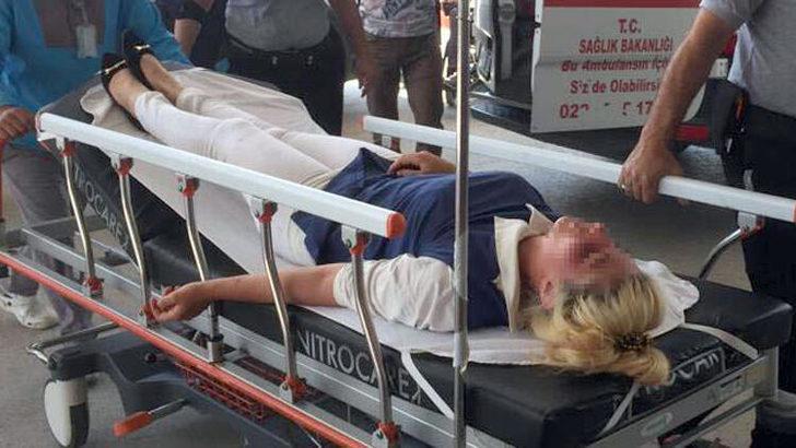 Anne- kız, eski gelinlerini hastanelik etti