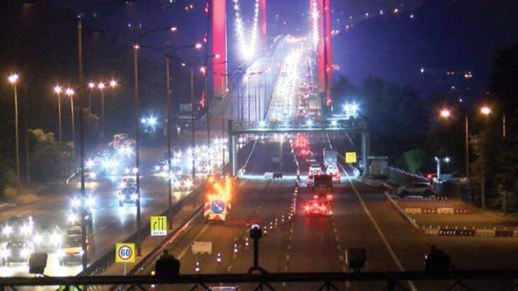 Ulaştırma Bakanı açıkladı: FSM Köprüsü'nün birinci etabı bu gece trafiğe açılıyor
