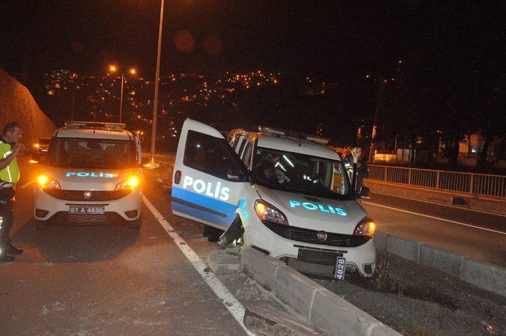 Zonguldak'ta hareketli saatler! Kovalamaca böyle son buldu!
