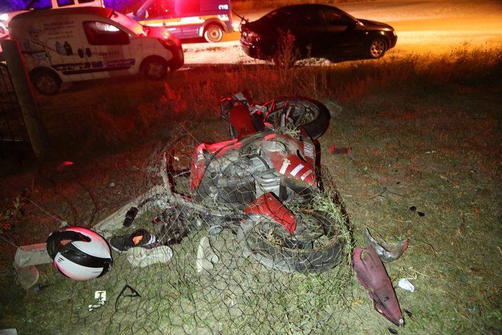 Sivas'ta motosiklet kazası: 1 ölü, 1 yaralı
