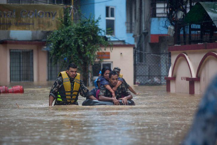 Nepal'deki felakette bilanço ağırlaşıyor! Ölü sayısı yükseldi