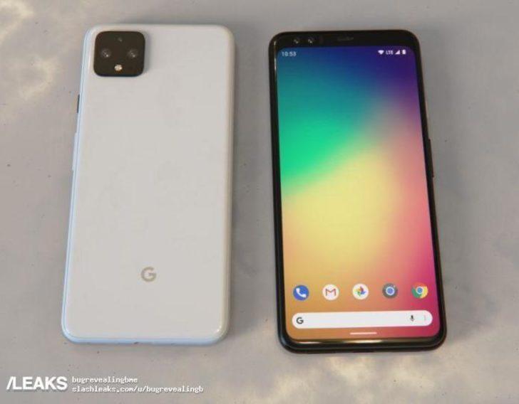 Google Pixel 4 XL kanlı canlı görüntülendi