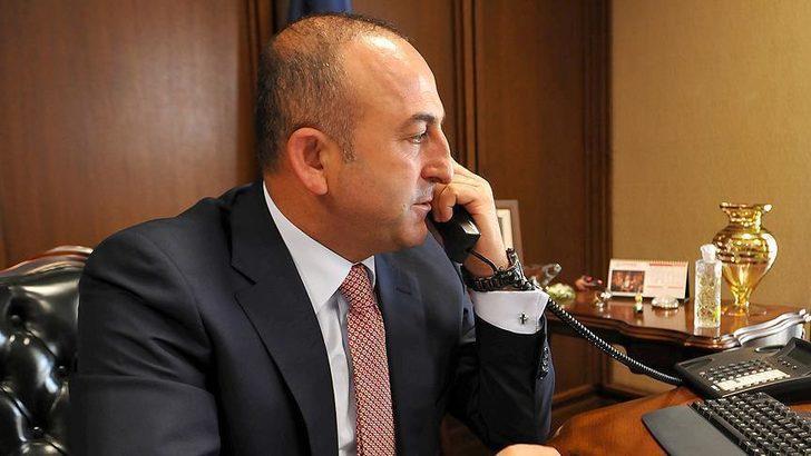Çavuşoğlu'nun Doğu Akdeniz telefon diplomasisi