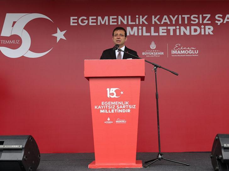 İBB Başkanı İmamoğlu'ndan Hayri Baraçlı açıklaması