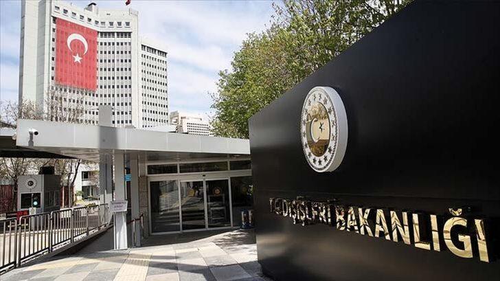 Dışişleri Bakanlığı'ndan AB'nin kararına sert tepki