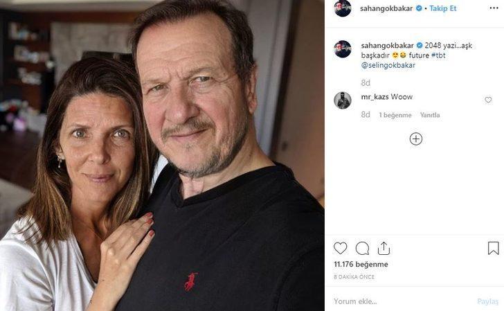 Şahan Gökbakar ve eşi