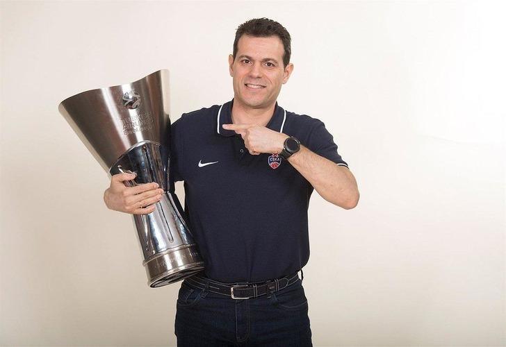 Euroleague'de yılın hocası Dimitris Itoudis