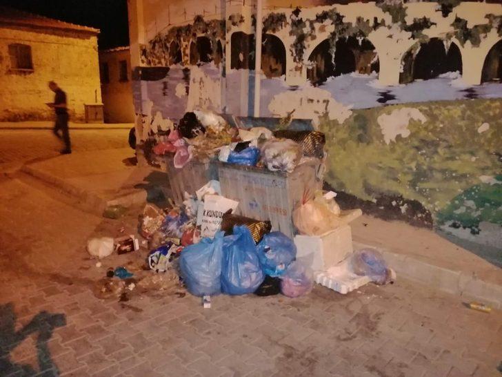 Buldan'da toplanmayan çöpler, hastalıklara davetiye çıkartıyor
