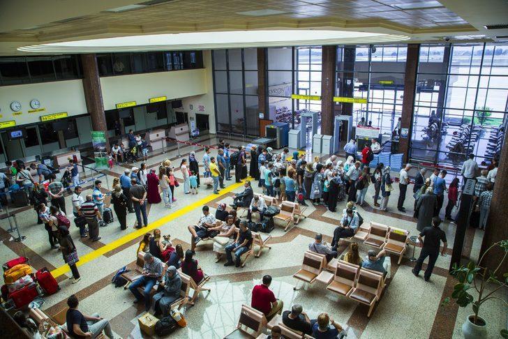Yenişehir Havalimanı'nda doluluk yüzde 100'e ulaştı