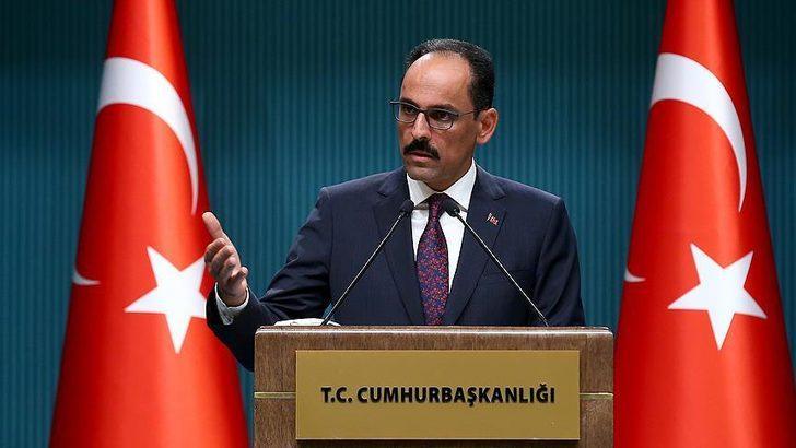 Cumhurbaşkanlığı Sözcüsü Kalın'dan düzensiz göçmen açıklaması