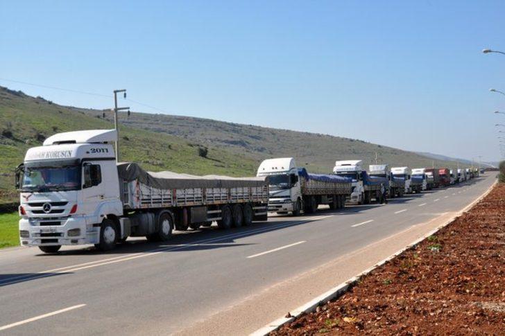 Cilvegözü Gümrük Kapısı'ndan 6 ayda 25 milyon 500 bin dolarlık ihracat