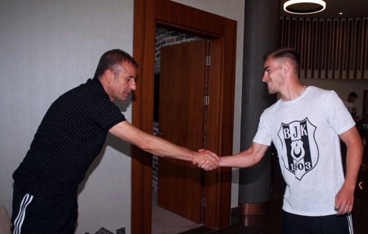 Beşiktaş'ın yeni transferi Tyler Boyd kampa katıldı