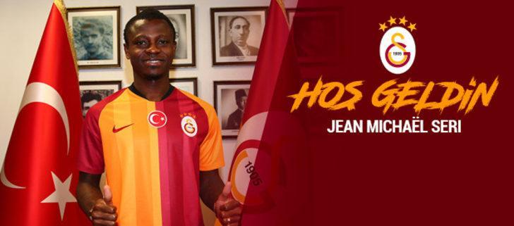 Seri, resmen Galatasaray'da