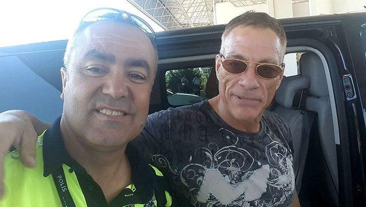 Ünlü aktör Jean Claude Van Damme, Bodrum'da!