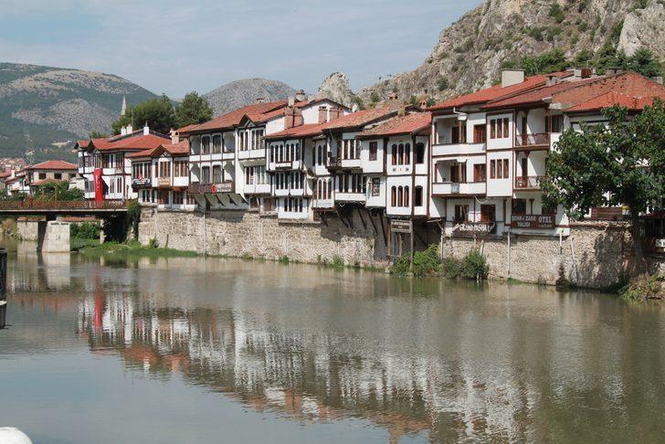 Açık hava müzesi Amasya turistlerin gözdesi