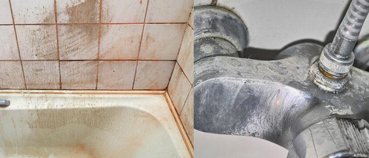 Hayalinizdeki temiz bir banyo çok uzakta değil! Bulaşık deterejanını bu mucizeyle karıştırın
