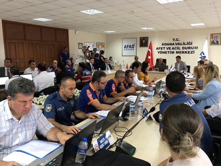 İl Afet Müdahale Planı Tatbikat Uygulaması Vali Demirtaş'ın katılımıyla gerçekleştirildi